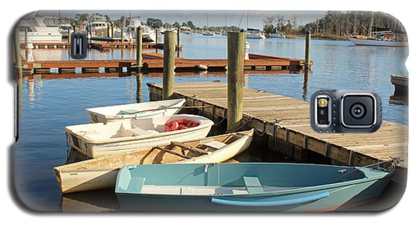 Galaxy S5 Case featuring the photograph Four Boats  by Cynthia Guinn