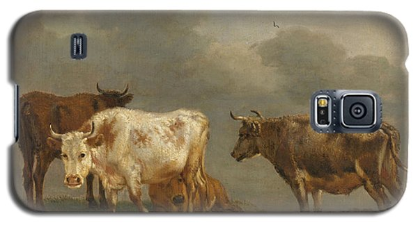 Four Cows In A Meadow Galaxy S5 Case