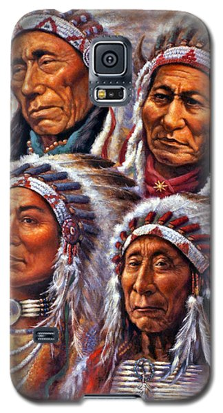Four Great Lakota Leaders Galaxy S5 Case