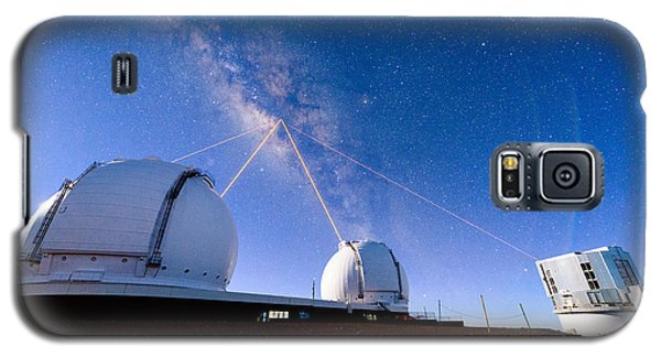 Four Lasers Attacking The Galactic Center Galaxy S5 Case