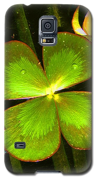 Four Leafed Clover Galaxy S5 Case
