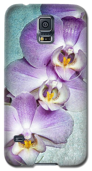 Four Little Orchids Galaxy S5 Case