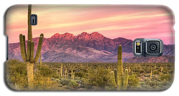 Four Peaks  Galaxy S5 Case by Anthony Citro