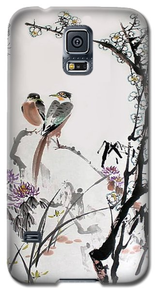 Four Seasons In Harmony Galaxy S5 Case by Yufeng Wang