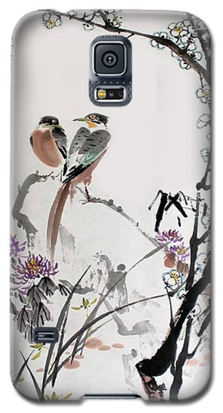 Galaxy S5 Case featuring the photograph Four Seasons In Harmony by Yufeng Wang