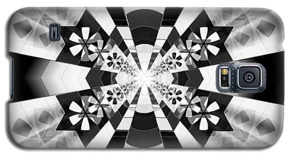 Galaxy S5 Case featuring the drawing Four Star Gateway by Derek Gedney