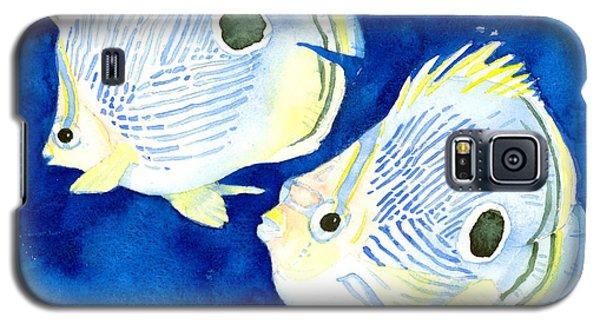 Foureye Butterflyfish Galaxy S5 Case