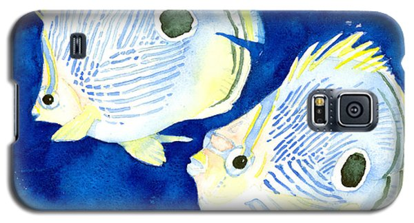Foureye Butterflyfish Galaxy S5 Case