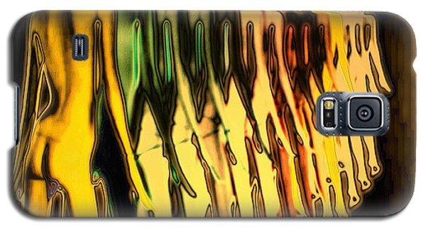 Galaxy S5 Case featuring the digital art Fox And Phalanx by Mojo Mendiola