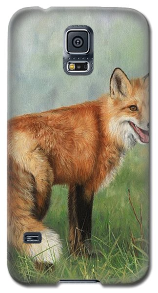 Fox  Galaxy S5 Case by David Stribbling