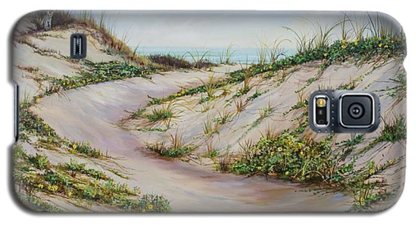 Fox Dunes Galaxy S5 Case by AnnaJo Vahle