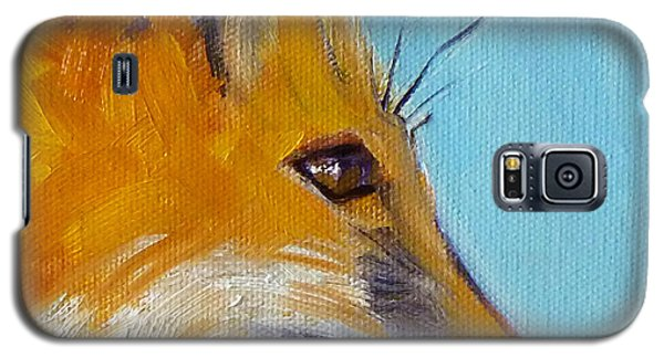 Fox Galaxy S5 Case by Nancy Merkle