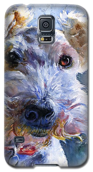 Fox Terrier Full Galaxy S5 Case