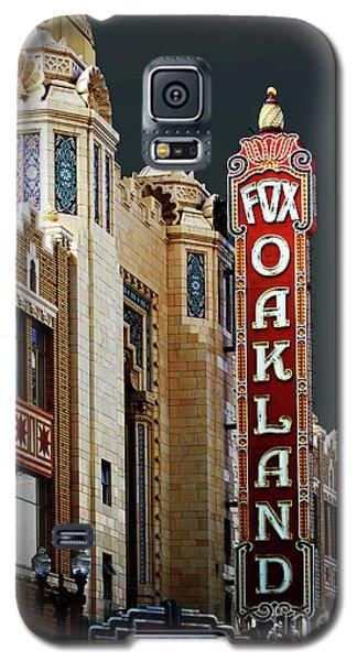 Fox Theater . Oakland California Galaxy S5 Case