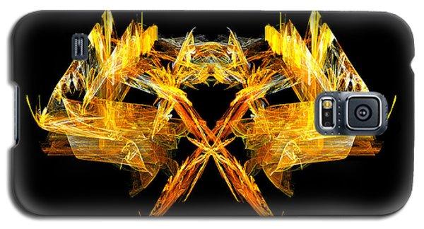 Galaxy S5 Case featuring the digital art Foxfire by R Thomas Brass