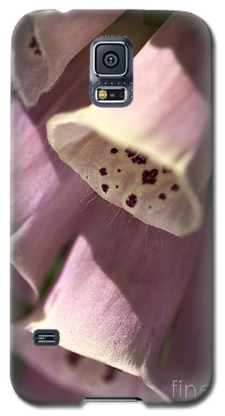 Galaxy S5 Case featuring the photograph Foxglove by Joy Watson