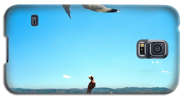 Galaxy S5 Case featuring the photograph Foxtrot For Food by Zafer Gurel