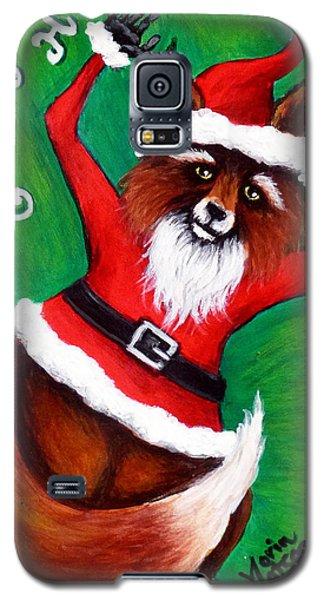 Foxy Santa Galaxy S5 Case
