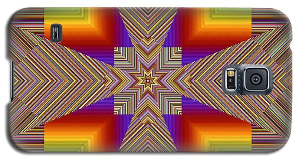 Galaxy S5 Case featuring the digital art Fractal Abstract 814 by Mario Carini