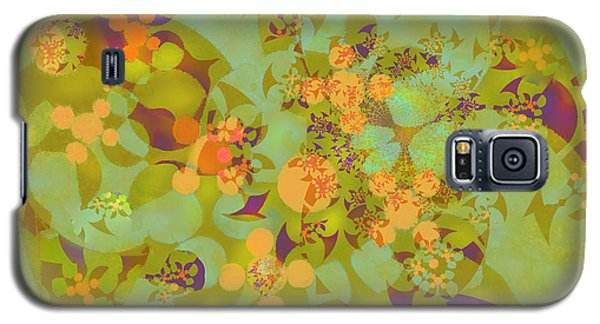 Fractal Blossom 2 Galaxy S5 Case by Ursula Freer