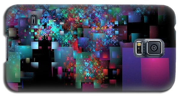 Fractal Confetti Galaxy S5 Case by Richard Ortolano