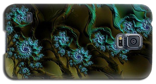 Fractal Forest Galaxy S5 Case by GJ Blackman