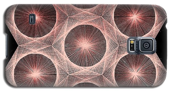 Fractal Fusion Hw Equals Mc Squared Galaxy S5 Case by Jason Padgett