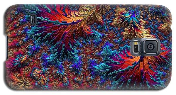 Fractal Jewels Series - Beauty On Fire II Galaxy S5 Case