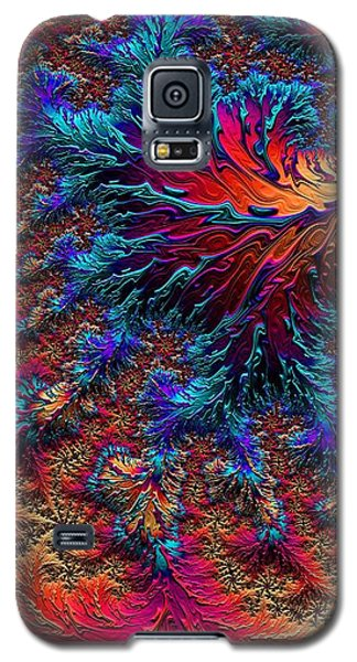 Fractal Jewels Series - Beauty On Fire II Galaxy S5 Case