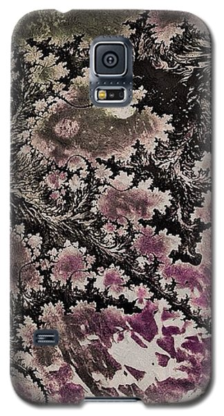 Galaxy S5 Case featuring the digital art Fractal Moon by Susan Maxwell Schmidt