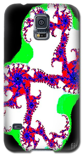 Galaxy S5 Case featuring the photograph Fractal No. 3 by Merton Allen