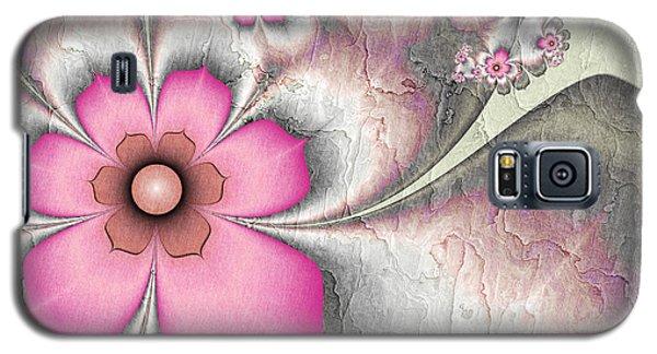 Fractal Nostalgic Flowers 2 Galaxy S5 Case
