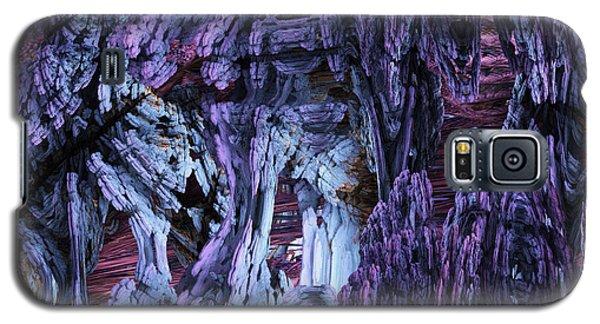Galaxy S5 Case featuring the digital art Fractal121413 by Matt Lindley