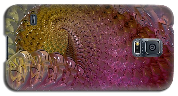 Fractalized Cube Galaxy S5 Case