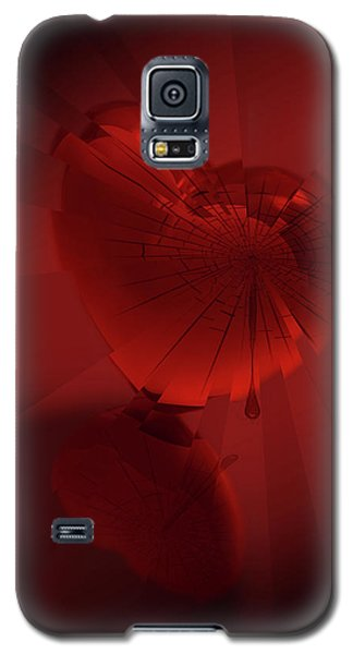 Galaxy S5 Case featuring the digital art Fracture II by Jeremy Martinson