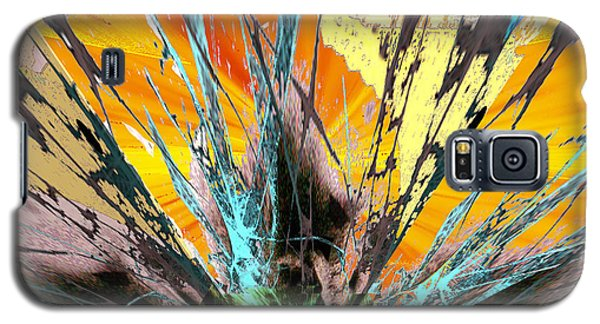 Fractured Sunset Galaxy S5 Case