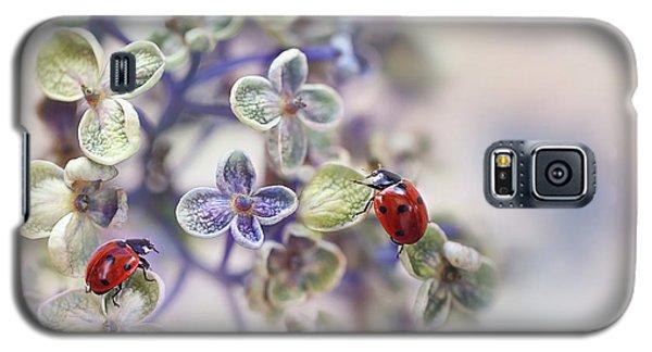 Ladybug Galaxy S5 Case - Fragile by Ellen Van Deelen