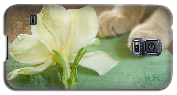 Fragrant Gardenia Galaxy S5 Case