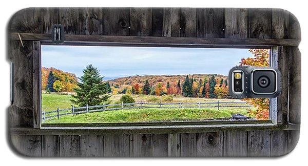 Framed-autumn In Vermont Galaxy S5 Case