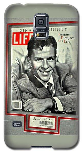 Frank Sinatra Life Cover Galaxy S5 Case