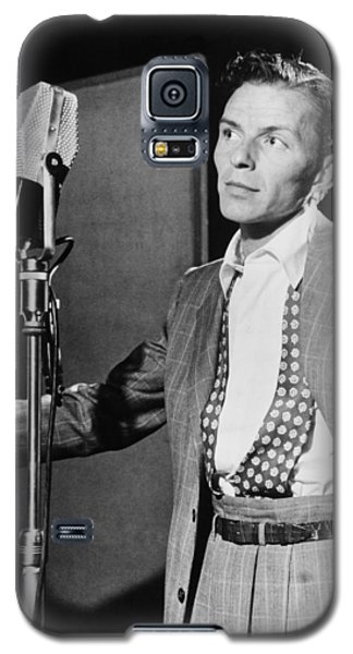 Frank Sinatra Galaxy S5 Case by Mountain Dreams