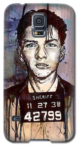 Frank Sinatra Mug Shot Galaxy S5 Case
