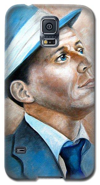 Frank Sinatra Ol Blue Eyes Galaxy S5 Case by Patrice Torrillo