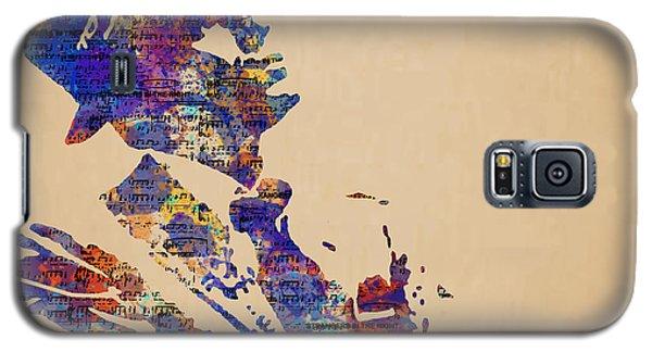 Frank Sinatra Watercolor Galaxy S5 Case