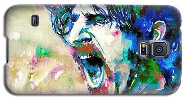 Frank Zappa  Portrait.4 Galaxy S5 Case by Fabrizio Cassetta