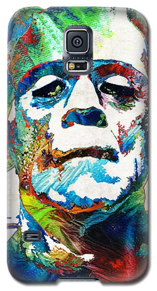 Frankenstein Art - Colorful Monster - By Sharon Cummings Galaxy S5 Case