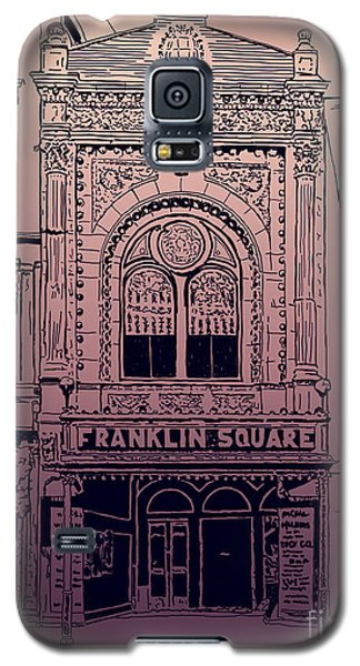 Franklin Square Theatre Galaxy S5 Case by Megan Dirsa-DuBois