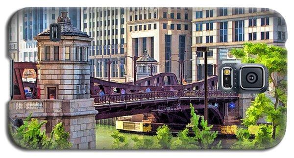 Chicago Franklin Street Bridge Galaxy S5 Case