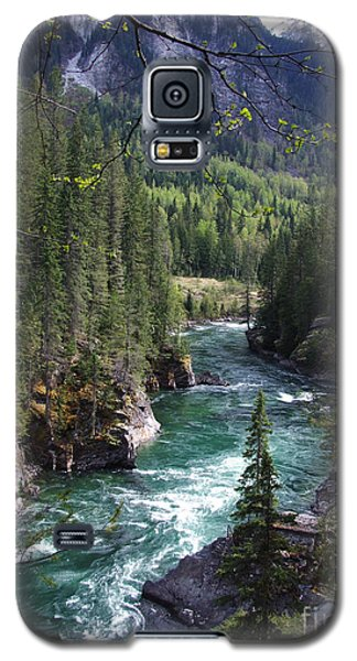 Fraser River - British Columbia Galaxy S5 Case by Phil Banks