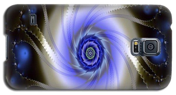 Galaxy S5 Case featuring the digital art Fraxal Vision by Mario Carini
